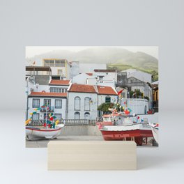 Vila Franca do Campo Mini Art Print