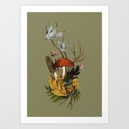 Autumnal Scene Art Print