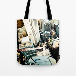 City From Above Tote Bag