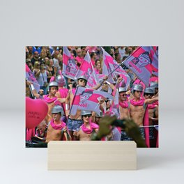 Gay Pride Amsterdam Mini Art Print