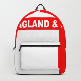 Flag of England and Saint George Backpack
