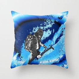 MOUNTAIN GLACIER TOUR VI Throw Pillow