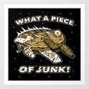 What a Piece of Junk! by mikehandyart