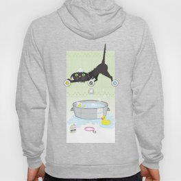 The kitty bath Hoody