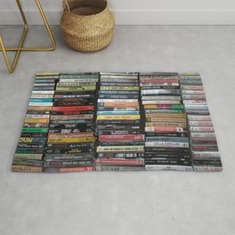 Hip-Hop Cassingles Rug