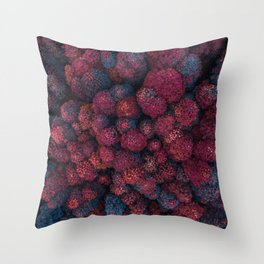 Imaginary Forest - Top View Throw Pillow