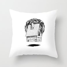 home no.2 Throw Pillow