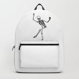 Bone Dancing Skeleton  Backpack