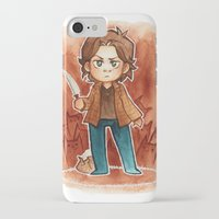 sam smith iPhone & iPod Cases featuring sam by noCek