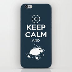 Keep Calm and... zZz iPhone & iPod Skin
