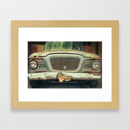 what a lark Framed Art Print