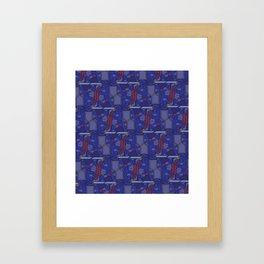 Knights of Escher Framed Art Print