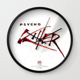 Ps*cho Killer Wall Clock