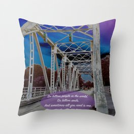 One Tree Hill- All you need is one. Throw Pillow