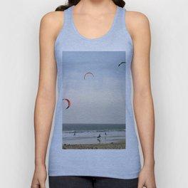 Kite Surfing Unisex Tank Top