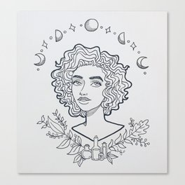 Wannabe Witch Canvas Print