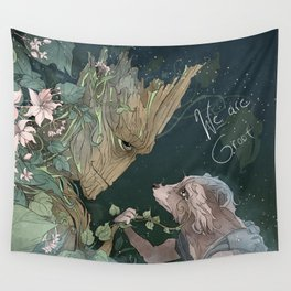 We Are Grt Wall Tapestry