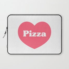 Heart Pizza Laptop Sleeve