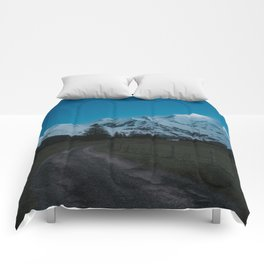 Into the Night - Landscape and Nature Photography Comforters