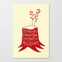 Roots of Resilience Canvas Print