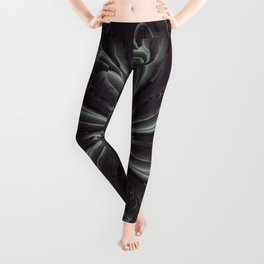 Out of the Darkness Fractal Bloom Leggings