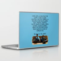 rap Laptop & iPad Skins featuring 101 Rap by Marianna