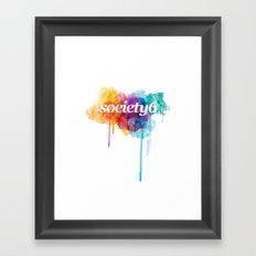 S6 Tee - 2nd Version Framed Art Print