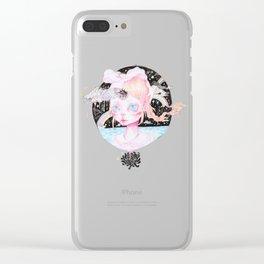 Third Eye Dreams (lilac) Clear iPhone Case
