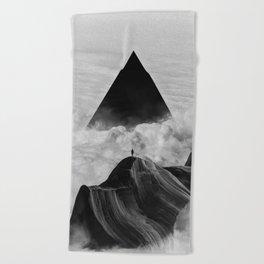 We never had it anyway Beach Towel
