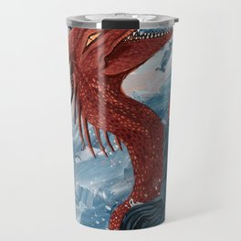 Cheerful Sea Dragon Travel Mug