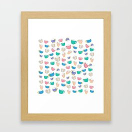A Cup for Me a Cup for You Framed Art Print