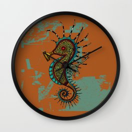 Fukushima Mon Amour Wall Clock