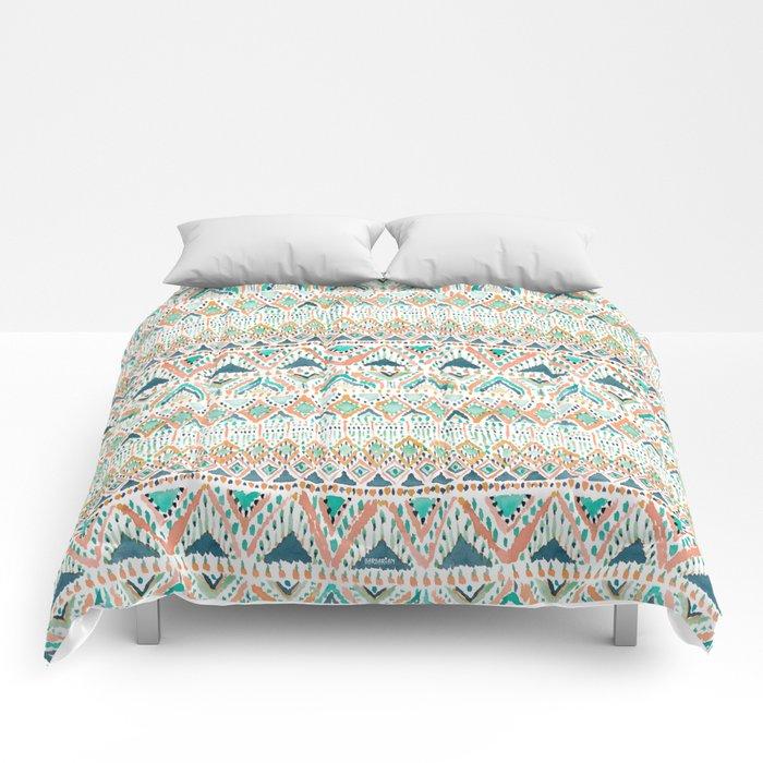 BALLIN' TRIBAL Boho Summer Geometric Comforters