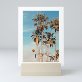 California Basketballl Mini Art Print
