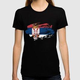 Serbia Flag T Shirt T-shirt
