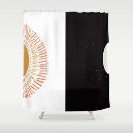 Duality Sun & Moon Shower Curtain