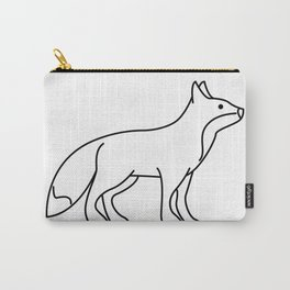 Fox Lineart Drawing Carry-All Pouch