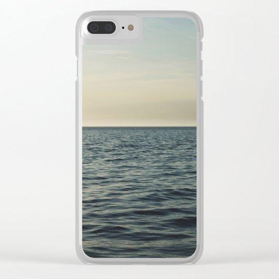 Calm Seas Clear iPhone Case