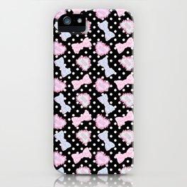 Pretty Baby Brand Whore Allover Black iPhone Case