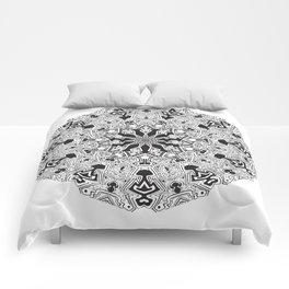 MANDALA #10 Comforters