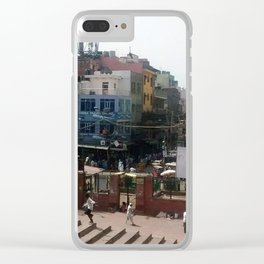Temple Street Clear iPhone Case