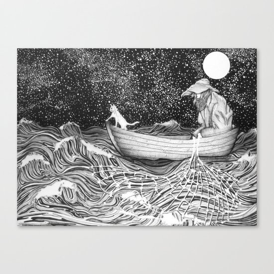 The Fisherman's Companion Canvas Print