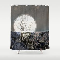 clue Shower Curtain