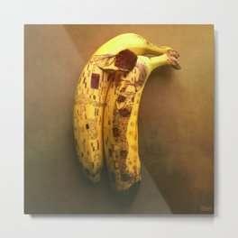 The Kiss (Banana Lovers)  Metal Print