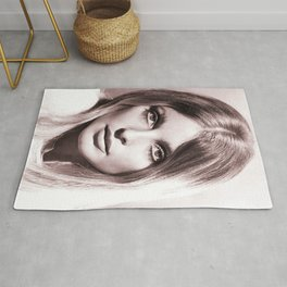 Sharon Tate poster Valley Of The Dolls 1967 Rug