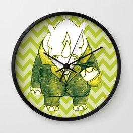 Rhino Recherche Wall Clock