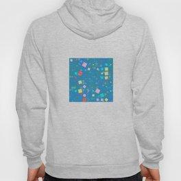 Squares mosaic Hoody