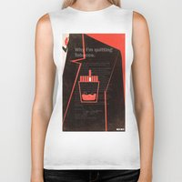 mad men Biker Tanks featuring Mad Men Poster Print by Take Heed