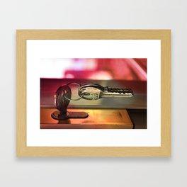 Key. Framed Art Print