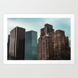The Undisclosed City Art Print